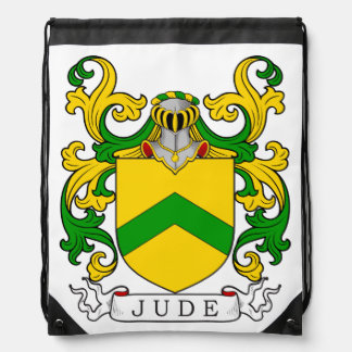 Jude Coat of Arms I Drawstring Backpacks