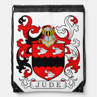 Jude Coat of Arms II Drawstring Bag