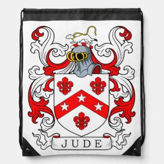 Jude Coat of Arms III Drawstring Backpacks