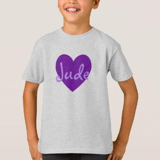 Jude in Purple T-Shirt