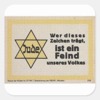 Jude Propaganda Poster Square Sticker