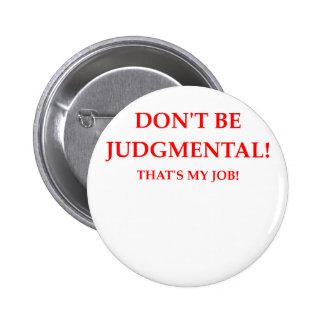 judge 2 inch round button