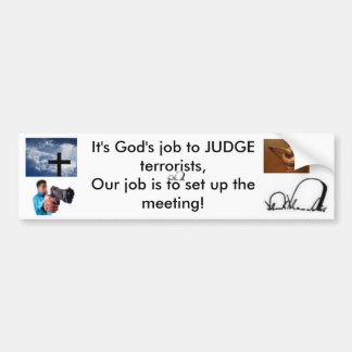 judge and jury bumper sticker