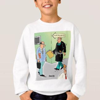 Judge Cartoon Sweatshirt