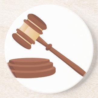 Judge Gavel Coaster