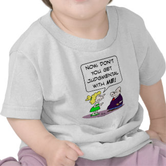 Judge gets judgmental with wife tees