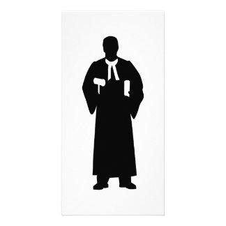 Judge Custom Photo Card