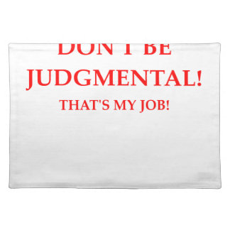 judge place mats