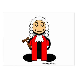 Judge (plain) postcard