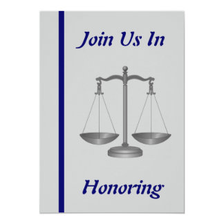Judge Retirement Invitation