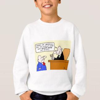 judge simon says not guilty sweatshirt