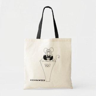 Judge - stickmice Tote Bag
