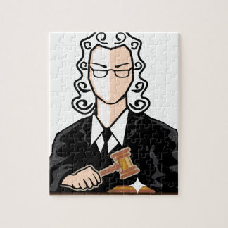Judge vector persona jigsaw puzzle