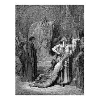 Judgment Of Solomon Postcard