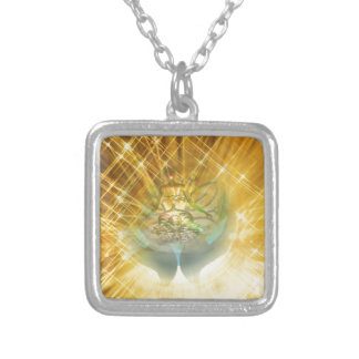 Judgment Silver Plated Necklace