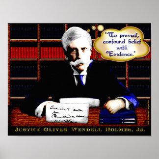 Judicial Wisdom - Holmes on Evidence (v2) Poster