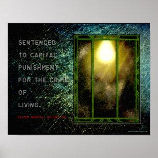 Judicial Wisdom - Holmes on Life and Death (v2) Poster