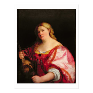 Judith, c.1525-28 (oil on canvas) postcard