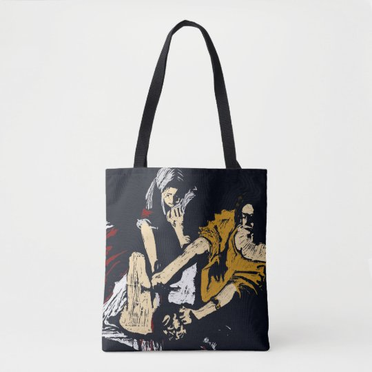Judith Slaying Holofernes by Artimisia Gentileschi Tote Bag