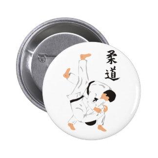 Judo 2 Inch Round Button