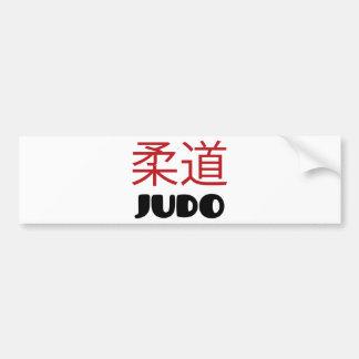 Judo Bumper Sticker
