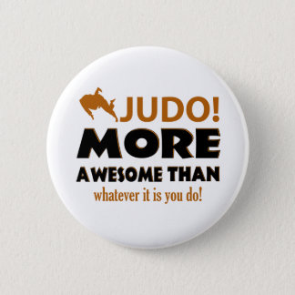 JUDO DESIGN 2 INCH ROUND BUTTON