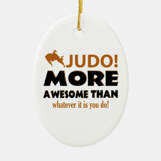 JUDO DESIGN CERAMIC ORNAMENT