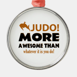 JUDO DESIGN METAL ORNAMENT