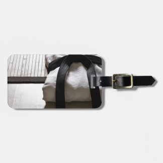 Judo Gi on Tatami mat Luggage Tag