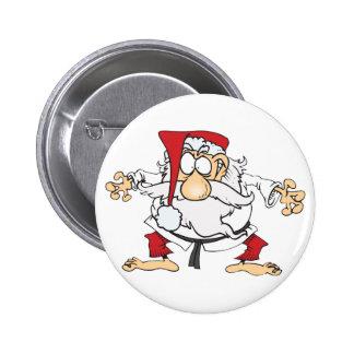 Judo-Santa 2 Inch Round Button
