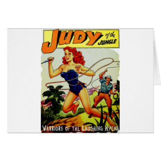 Judy of the Jungle Card