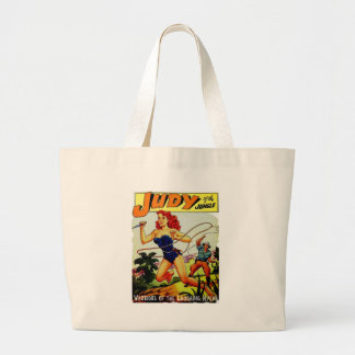 Judy of the Jungle Large Tote Bag
