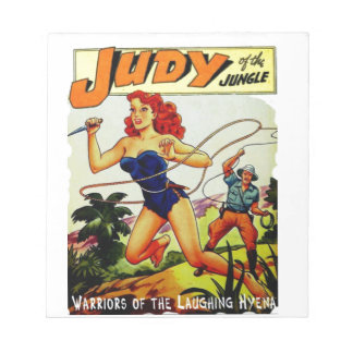 Judy of the Jungle Notepad