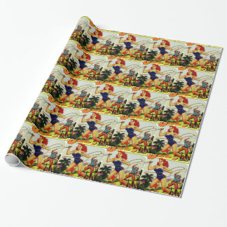 Judy of the Jungle Wrapping Paper