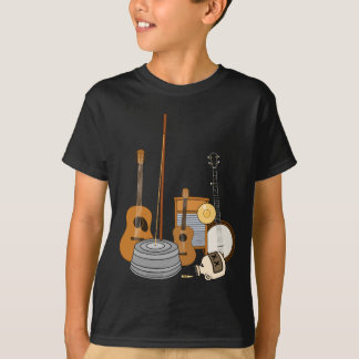 Jug Band Instruments T-Shirt