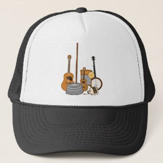 Jug Band Instruments Trucker Hat