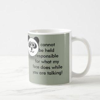 Jugé responsable - tasse de café