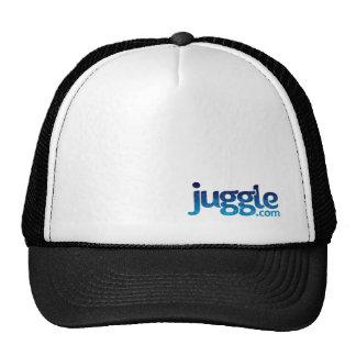 Juggle Blue Skulls Logo Hats