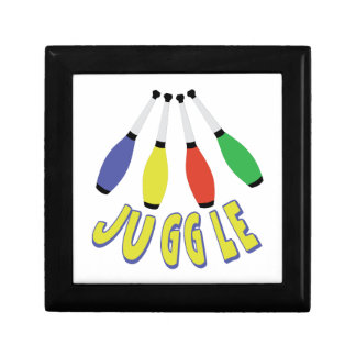 Juggle Clubs Trinket Boxes