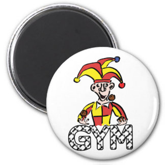 Juggle Gym 2 Inch Round Magnet