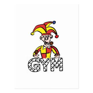 Juggle Gym Postcard