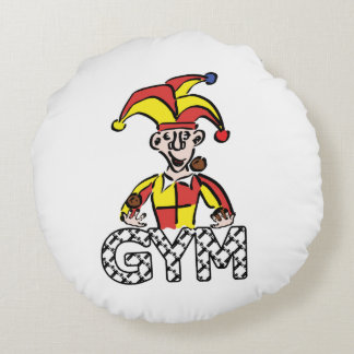 Juggle Gym Round Pillow