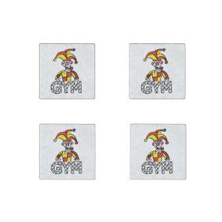 Juggle Gym Stone Magnets