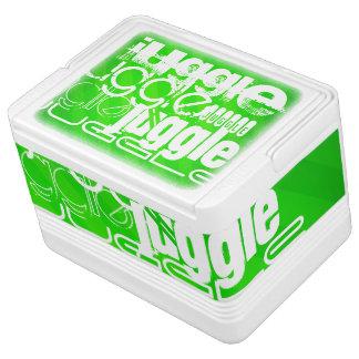 Juggle; Neon Green Stripes