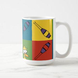 Juggle Pop Basic White Mug