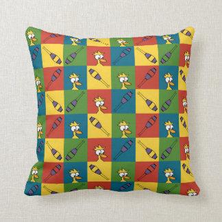 Juggle Pop Throw Pillows