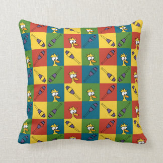 Juggle Pop Throw Pillows