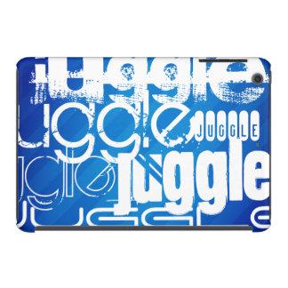Juggle, Royal Blue Stripes iPad Mini Cover