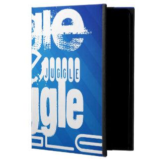 Juggle, Royal Blue Stripes Case For iPad Air
