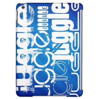 Juggle, Royal Blue Stripes iPad Air Covers